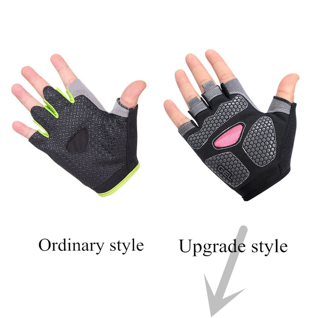 Non Slip Half Finger Sport Gloves