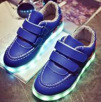 Children Shoes Light Led Luminous Shoes Boys Girls USB Charging Sport Shoes Casual Led Shoes Kids