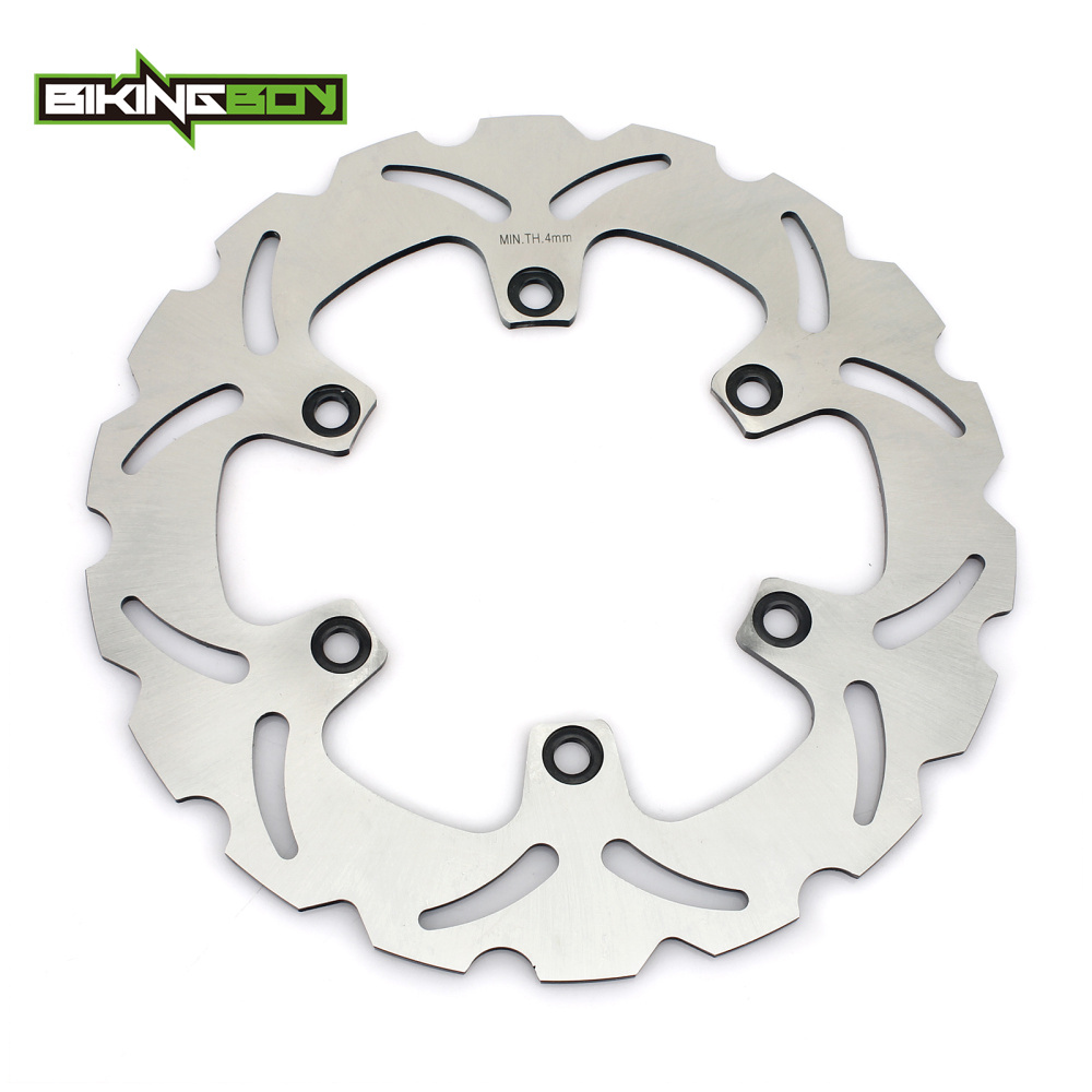 BIKINGBOY Rear Brake Disc Rotor Disk For KAWASAKI GTR 1000 1994 1995 1996 1997 1998 1999 2000 2001 2002 2003 2004 2005 2006 2 pieces motorcycle front disc brake rotor scooter front rear disc brake rotor for honda cb400 1994 1995 1996 1997 1998