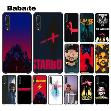 Babaite The Weeknd starboy TPU Soft Phone Accessories Cell Case for Haiwei P10 plus Honor 9 10 View Mate NOVE3E