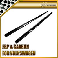 Promotion Car Accessories For VW Golf 7 GTI Carbon Fiber OEM Side Skirt Extension Glossy Fibre Auto Door Body Kit Racing Trim