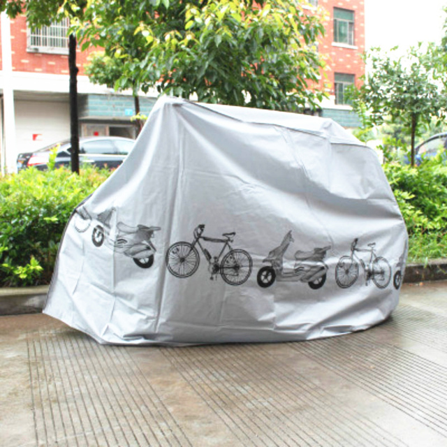 Bicycle Waterproof Cover Outdoor Portable Scooter Bike Motorcycle Rain Dust Cover Bike Protect Gear Cycling Bicycle Accessories