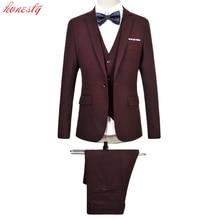 Jackets Pants Vest Men Costume Suit Clothing Formal Slim Fit Casual Business Plus Size Wedding