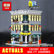 LEPIN 15005 2232Pcs City Creator Grand Emporium Model Building Blocks Bricks action Brick for Children Toy