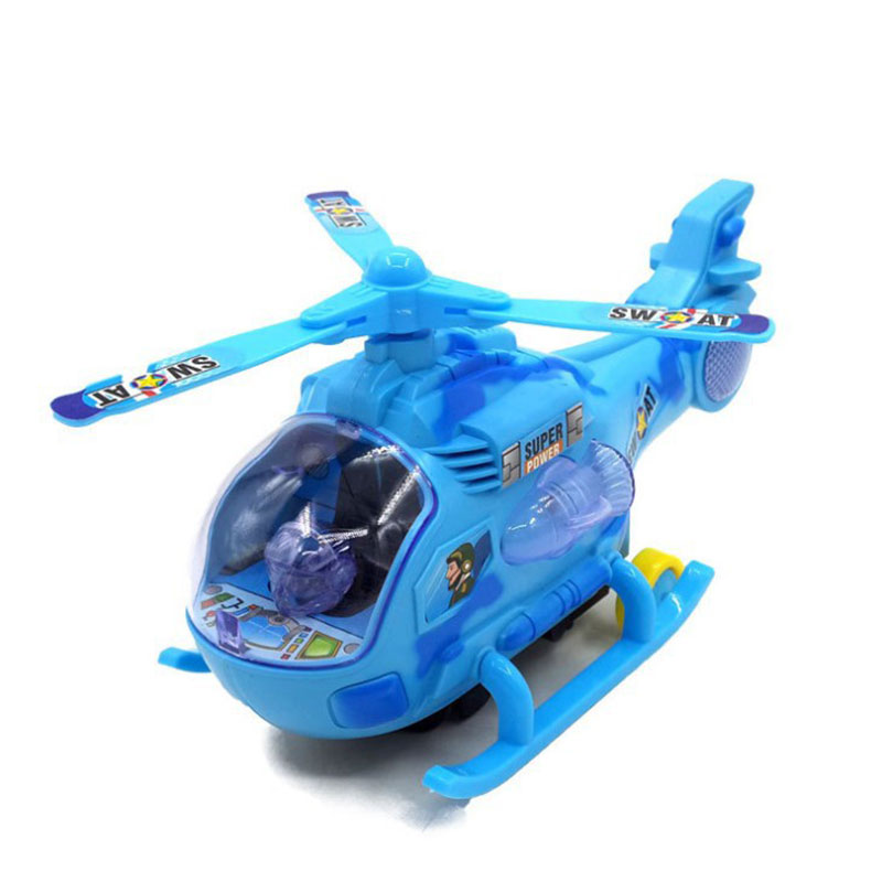 20CM Electric Helicopter Model Army Fighter Aircraft Airplane Models Adult Children Toys For Kids Military Birthday Gift Toy