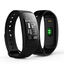 Купить с кэшбэком QS90 Smart Bracelet Smart Watch for Android IOS Heart Rate Monitor Sport Fitness Tracker Monitor Pedometer Waterproof Smartwatch