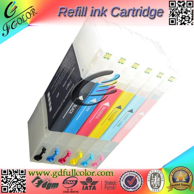 Specjalny atrament zestawy do napełniania do projektora Epson D700 pojemnik z tuszem UV atrament barwnikowy papier fotograficzny kompleksowe wsparcie