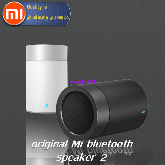 US $26 99 |Original xiaomi speaker version 2 cannon TYMPHANY speaker  1200mah battery xiaomi bluetooth speaker ABS material BT 4 1 1pcs/lot-in  Portable