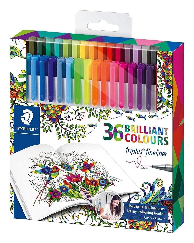 3279 45 De Descuento36 Colores Staedtler Micrón Liner Pluma Graffiti Pintura Color Gel Plumas Líneas Dibujo Lápiz Bocetos Marcadores Manga Oficina