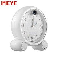 IMIEYE 2MP 1080P Full HD IP Spy Digital Alarm Clock Cctv Surveillance Hidden Table Wifi Wall
