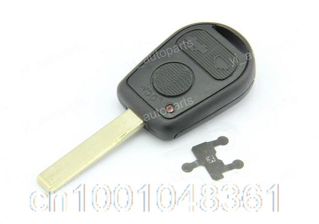Blank Key Remote Shell Replacement For BMW M3 E46 318ti 328is 540i 740i 750iL  528i  840Ci  850C 3 Buttons W/Conductive Film 5