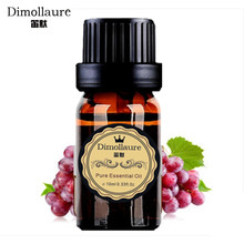 Dimollaure Natural organic virgin Grape Seed essential oil Base oil body massage oil Skin Hair care aromatherapy carrier oil(China)