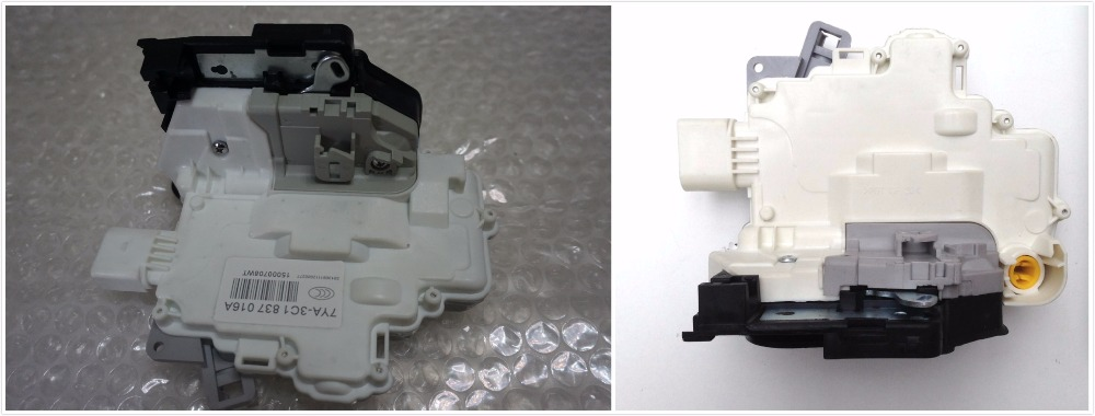 FAST SHIPPING 2PC PAIR FRONT CENTRAL DOOR LOCK LATCH ACTUATOR 3C1837016a 3C1837015a FOR VW PASSAT B6 SKODA SUPERB A4 A5 Q5 Q7 TT u119 new door lock latch actuator driver side front left lh for vw jetta golf beetle