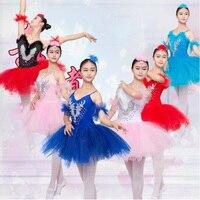 Women's Swan Lake Ballet DanceTutu Costume dress Women Ballet Leotard Ballerina Dress Female Adult Ballet dancewear costumes