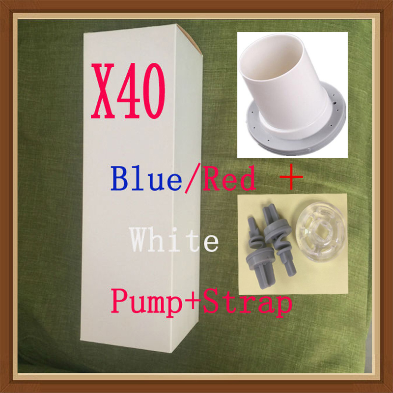 Free shipping Hydrotherapy X40 penis pump enlargement pro extender with shower strap when doing water bat hydrotherapy x30 penis pump with instructions penis enlargement water spa penis extender like proextender