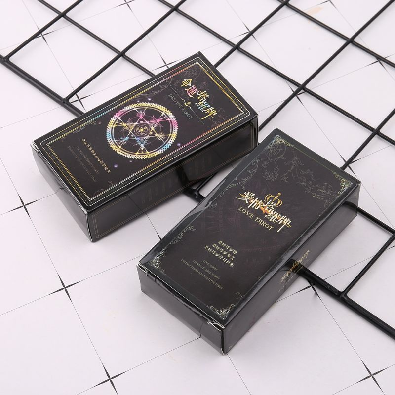 Tarot Cards Table Games Fate Love Mysterious Tarot Card Divination Astrology Board Game For Women