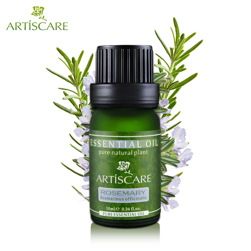 ARTISCARE 100% Rosemary Pure Essential Oil 10ml Anti-Aging and Anti-Wrinkle Firming Slimming Anti Hair Loss Skin Care Products neroli lavender rosehip oil 10ml for anti wrinkle