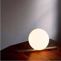 GETOP kreatywne biurko lampa modne proste kule dekoracyjne tabeli lampa do sypialni  Hotel  pokój dzienny  restauracja w Lampy na biurko od Lampy i oświetlenie na