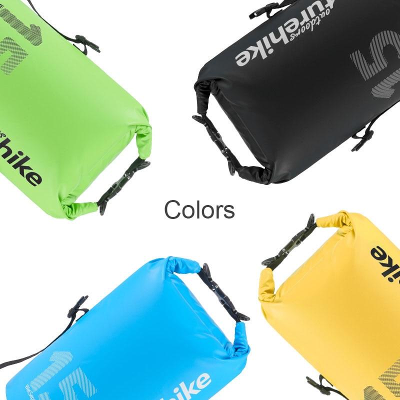 Naturehike Outdoor waterproof bag dry bag trekking fishing camping waterproof backpack swimming sack with strap 10L 15L 25L