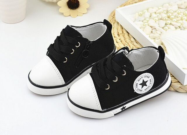 Eur21-25//Spring Canvas Children Shoes Girl Breathable Sneaker Shoes Boys&Girls Not Smelly Feet Soft Chaussure/Kids Sneakers 1