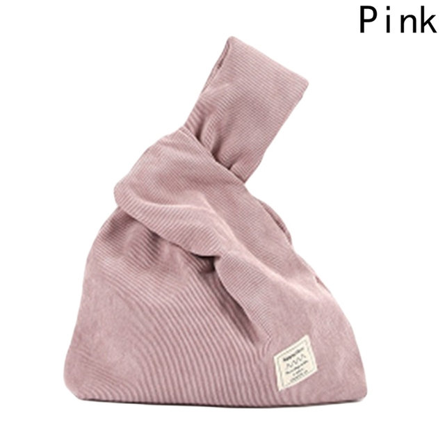 279ba00eeec2 Corduroy Wrist Bag Bartack Handbag Simple Carry Bags Wristlet Wrist Pack Tote  Coin Purse Phone Bags Girls Autumn Winter