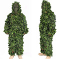 3D Jungle Camo Ghillie Suit Camouflage Hunting clothing SNIPER Tactical Camouflage Suit Bionic training suit Paintball Airsoft