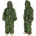 3D da selva Camo Ghillie Suit camuflagem roupas caça SNIPER camuflagem tático Suit terno treinamento Bionic Paintball Airsoft