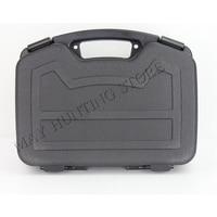 Gun Hard Case Single Pistol Handgun Lock Storage Box Revolver Weapon Safe Carry 1911 M9 GL USP HK45 P30 P7 PSP P2000SK