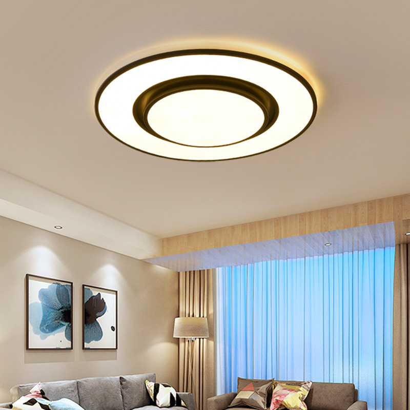 Verllas Bedroom Living children room Round Modern Ceiling Lights Led Lamp lustre Avize Home decor ceiling lamp for baby kid room