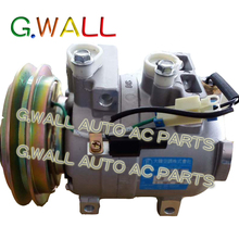 DKV14C ac compressor For Car Hyundai Excavator / R225-7 / HCC 1997-2009 A50000674001 11N6-90040 11N892040 50000674001