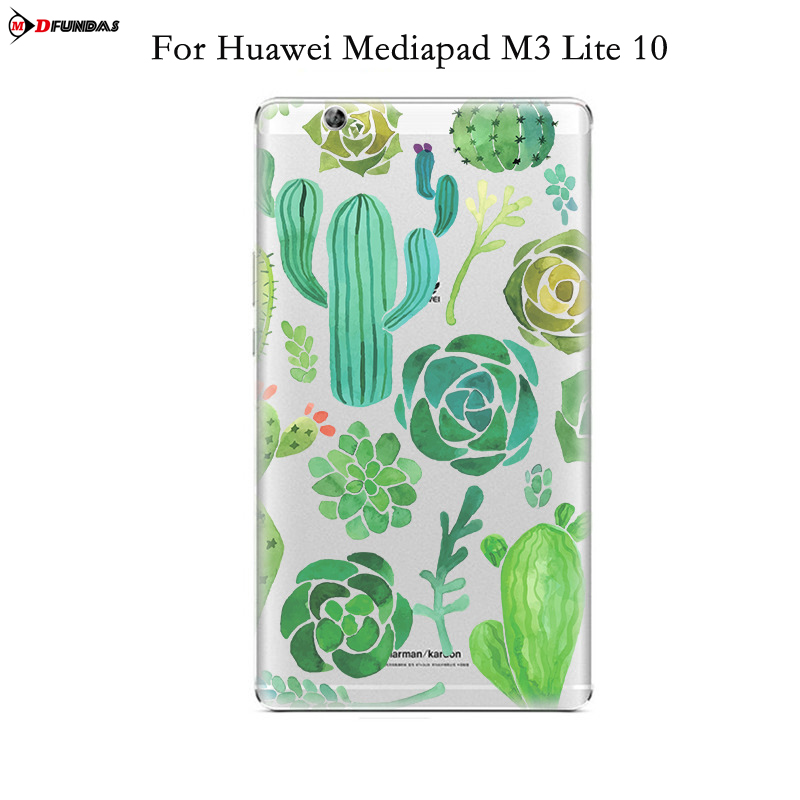 MDFUNDAS Lightweight Thin TPU Case For Huawei Mediapad M3 Lite 10 BAH-W09 BAH-AL00 Tablet Cover For Huawei M3 Lite 10.1 inch luxury pu leather cover business with card holder case for huawei mediapad m3 lite 10 10 0 bah w09 bah al00 10 1 inch tablet