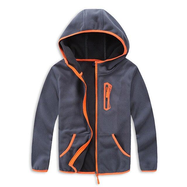 7896e6cac Polar Fleece Children Boy Outerwear Coat Kids Sport Jacket Clothes ...