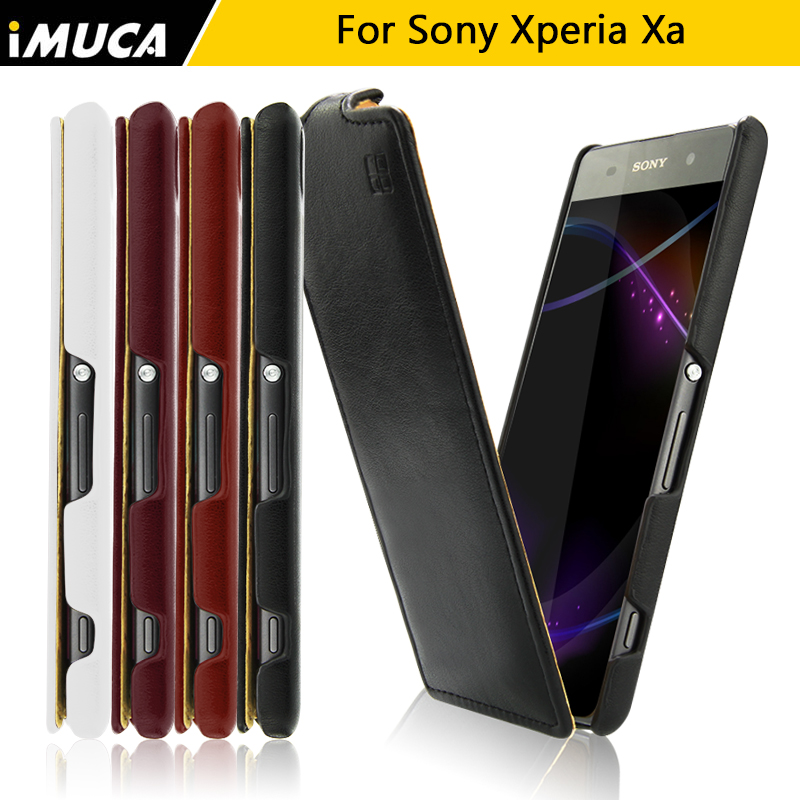 IMUCA flagship store for Sony Xperia XA Case Cover for Xperia XA F3111 F3112 F3113 F3115 flip leather cases iMUCA mobile phone accessories