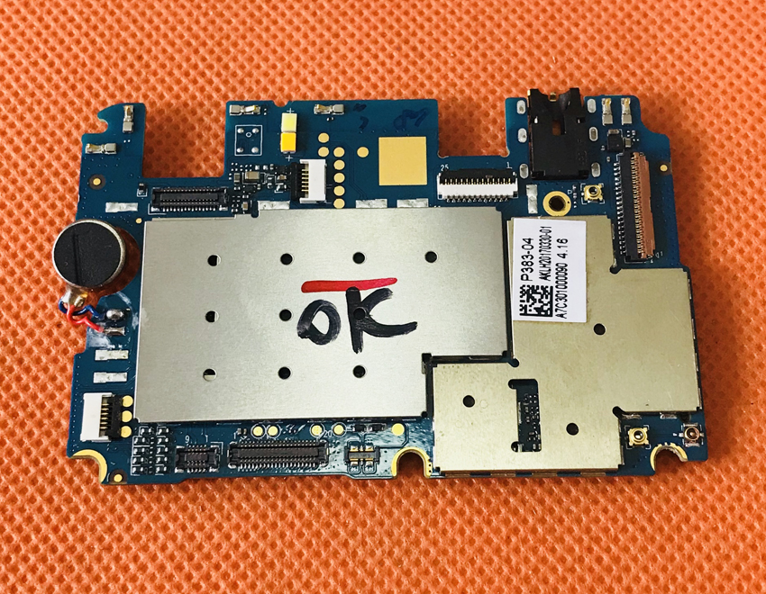 Used Original mainboard 3G RAM+32G ROM Motherboard for UMIDIGI C NOTE S free shipping ...