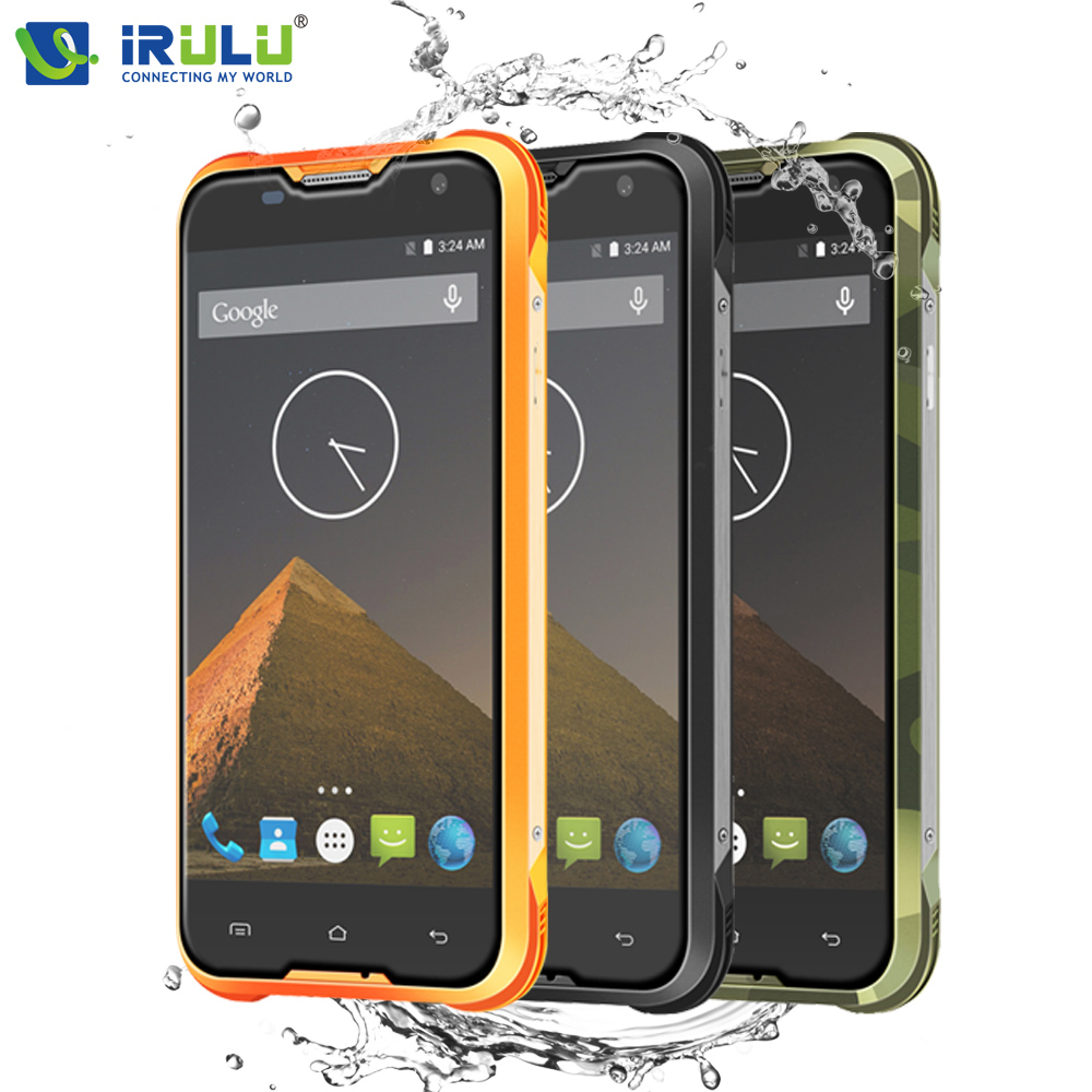 iRULU Blackview BV5000 4G LTE Mobile Phone 5 HD Android 5 1 Waterproof MTK6735 Quad Core