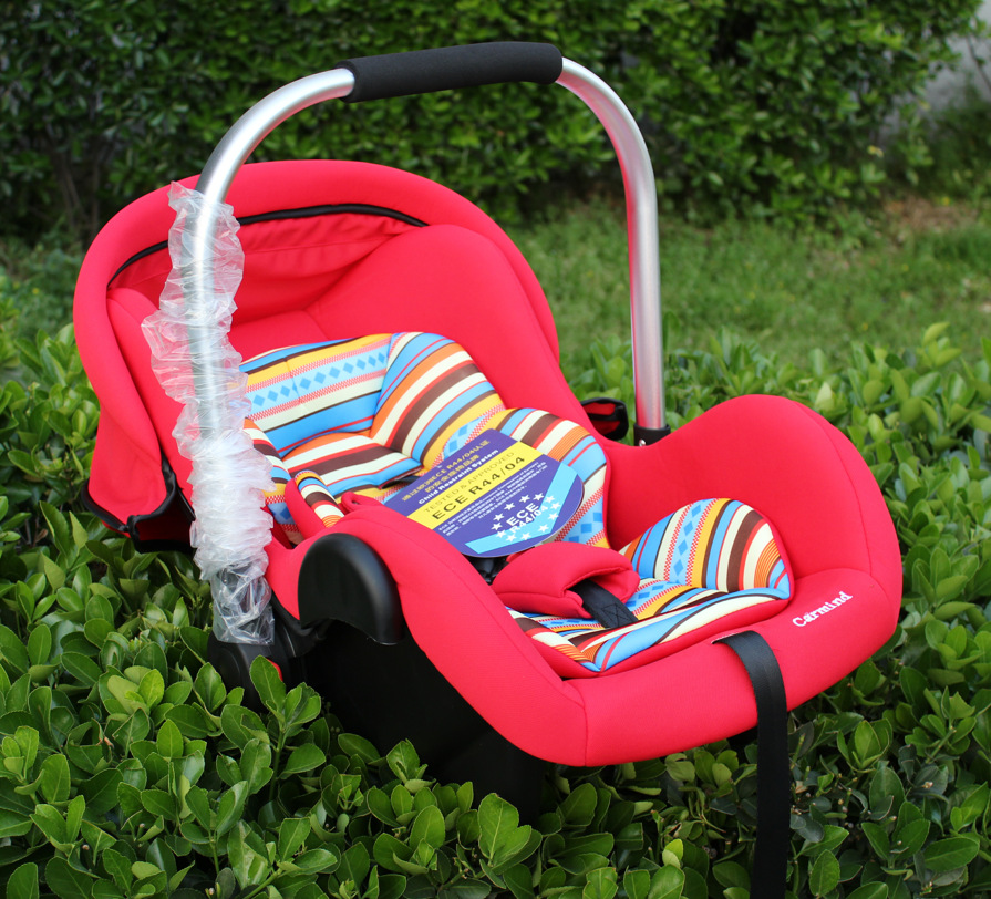 0 15 Month Baby Basket Type Safety Seat Portable Safety Hand Basket Auto Chair Seat Infant Baby Protect Seat Chair Basket