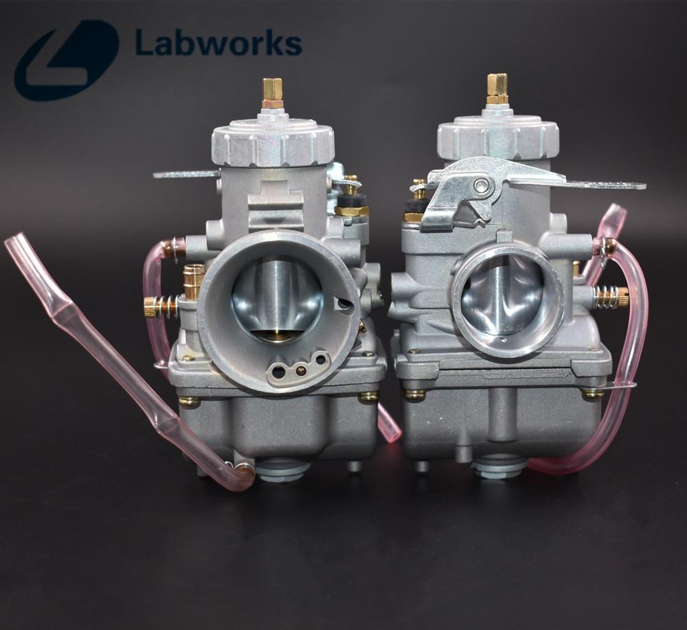 New Pair Carburetor For Honda CB350 CB350G CB360 CB360G ...
