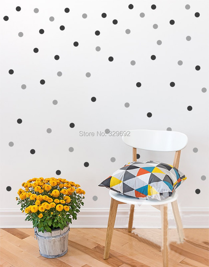 Baby boy room decor stickers - Polka Dots Wall Decal Diy 2color 160 Polka Dot Small Polka Dots Decal Kids Wall Decoration
