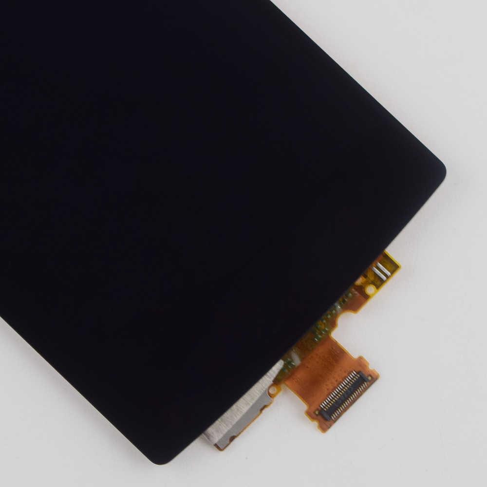ل LG G4C H525N H525 H522Y H520Y H500 H502 شاشة الكريستال السائل لوحة مراقبة Moudle شكل + محول الأرقام بشاشة تعمل بلمس الزجاج الاستشعار الجمعية