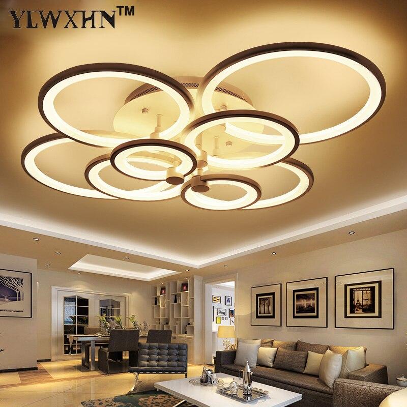 2017 Neue Ankunft Echt Ce Remote Wohnzimmer Deckenleuchten Led Leuchten Stop Moderne Verdunkelung Die Lampe