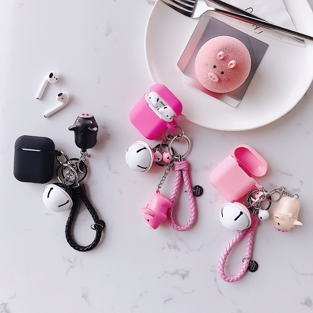 Airpods Headphones Wireless Case For Airpods Apple Original Case Silicone Soft TPU Cover For Bluetooth Earphone Air Pods Cover