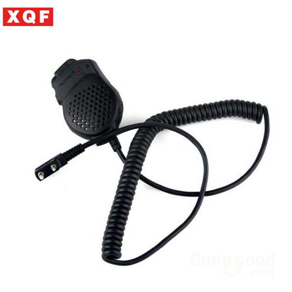 xqf 10 pcs baofeng speaker microphone for ham two way