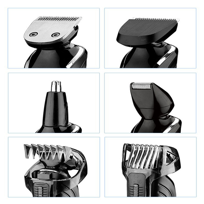 Kemei1832 New Cutter Electric Hair Clipper Rechargeable Hair Trimmer Shaver Razor Cordless Adjustable Clipper Free Shipping kemei1832 rechargeable hair trimmer electric hair clipper