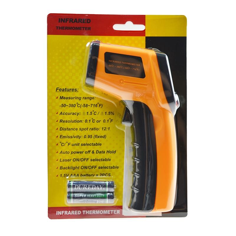 Temperatur Instrumente Gm320 Marke Neue Digitale Infrarot Thermometer Ir Laser Temperatur Meter Nicht-kontakt Lcd Gun Stil Handheld Pyrometer SchüTtelfrost Und Schmerzen