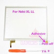لنينتندو DSi NDSI XL LL LCD شاشة تعمل باللمس قطع غيار محول رقمي ل NDSIXL NDSILL