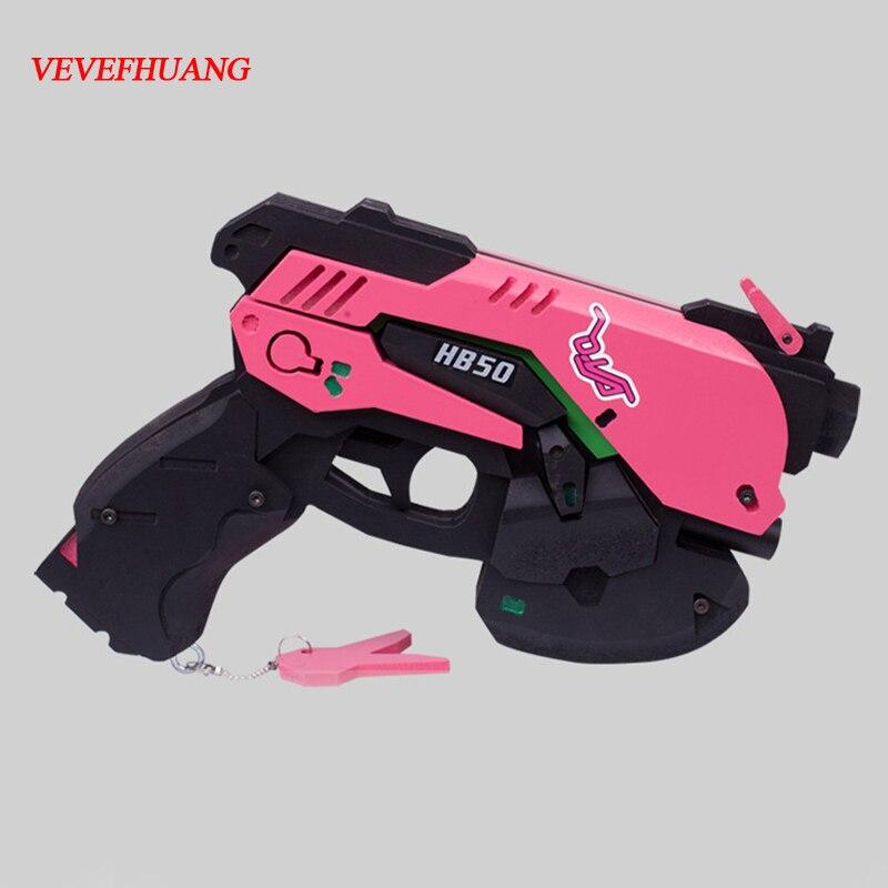 Costume Props Trend Mark Vevefhaung Watch Over D.va Gun Headphone Hana Song Dva Weapon Pistol Headset Cosplay Costume Props Accessories For Game