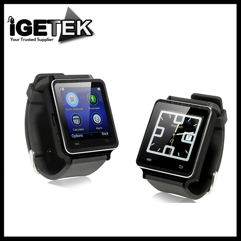 iradish i7 Bluetooth Smart Watch Sync Phone Call Mic FM Pedometer Sleep Monitor Speaker Anti-lost Alarm for Android Smartphones wireless service call bell system popular in restaurant ce passed 433 92mhz full equipment watch pager 1 watch 7 call button