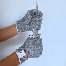 Safety HPPE Cut Proof Stab Resistant Stainless Steel Metal Mesh Gloves Grade 5 Protective