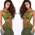 Summer 2 Two Piece Set 2017 Women Sexy Ensemble Femme bandage Bra Cropped Top+Elastic Leggings Pants Bodysuit Swing Suit D509