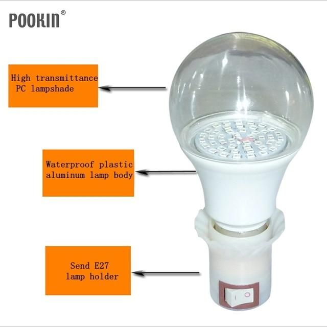 A70 7 Вт A80 12 Вт ультрафиолетовые бактерицидные лампы, включая лампы держатель дезинфекции бытовых анти-клещ против гриппа УФ-лампы